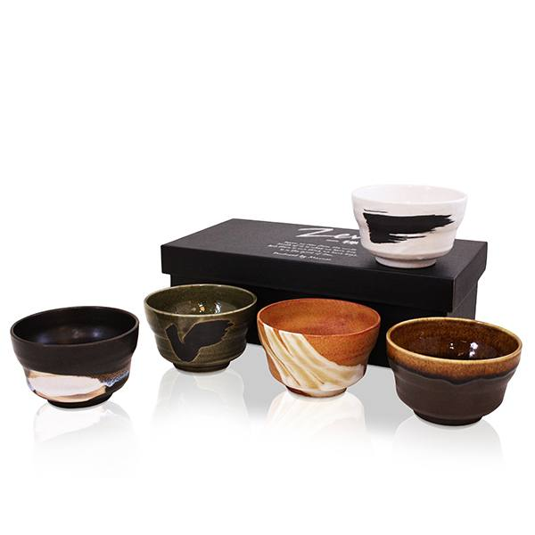 Zen Naikan 5 Tea Bowl Set