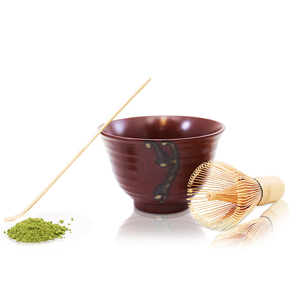 Zen Red Matcha Bowl