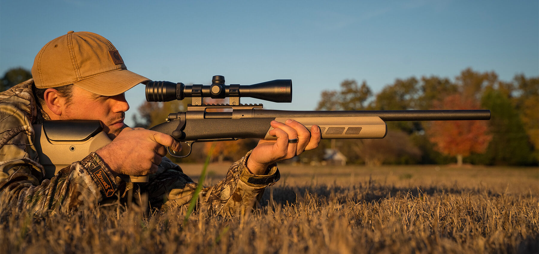 Hunting chassis gunstock designed to perform and built by nature for the outdoors
