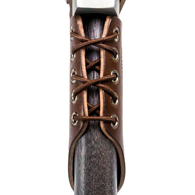 Genuine Leather Axe Collar