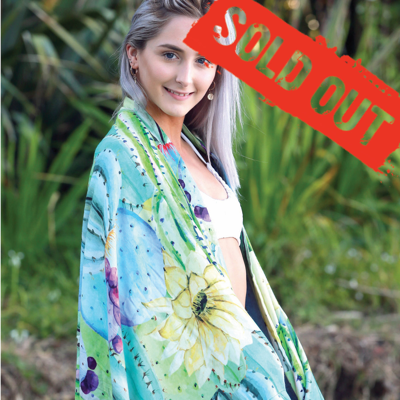 Cactus Softie Towel - SOLD OUT