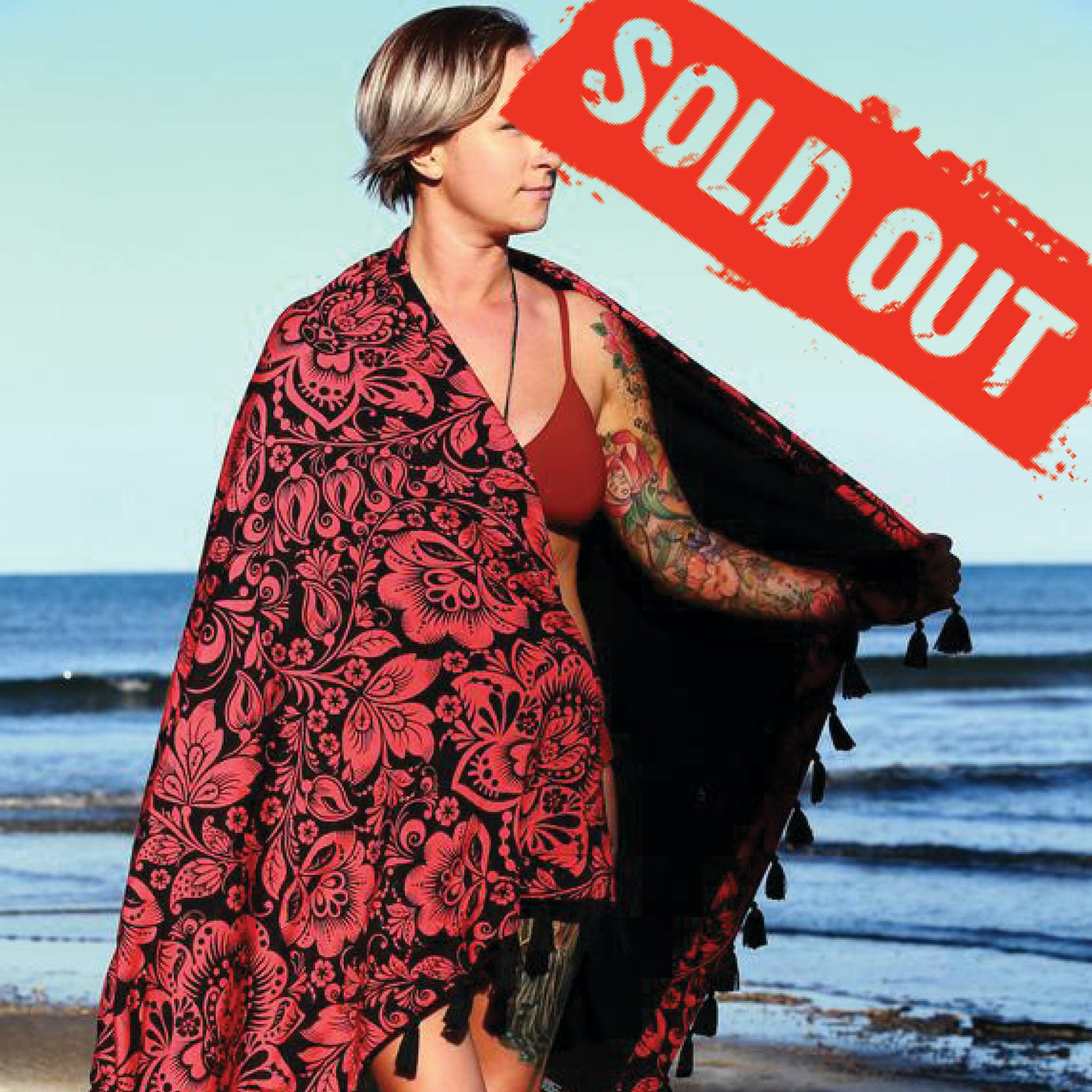Russian Doll Towel (with tassels) - SOLD OUT