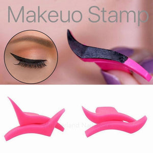1Pair Eyeliner Stamp Template Stencil Model - theprimelabel