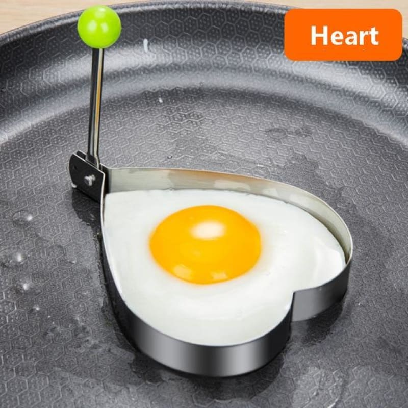 5 Style Stainless Steel Fried Egg/Pancake Mold - theprimelabel