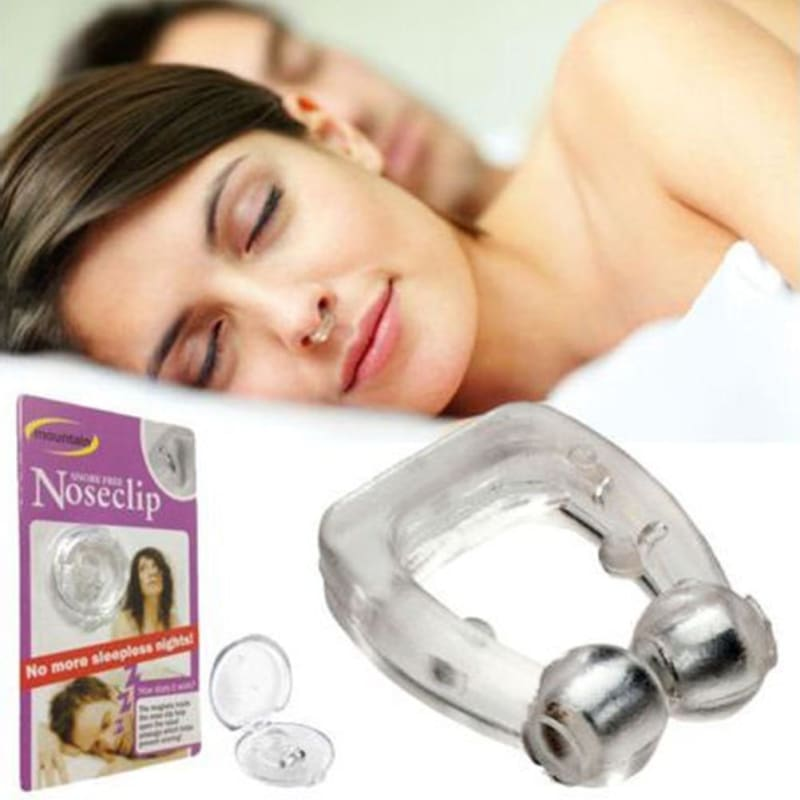 Magnetic Anti-Snore Nose Clip - theprimelabel