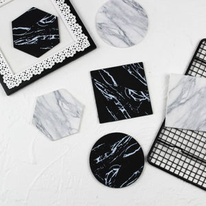 Marble Coffee Coaster - theprimelabel