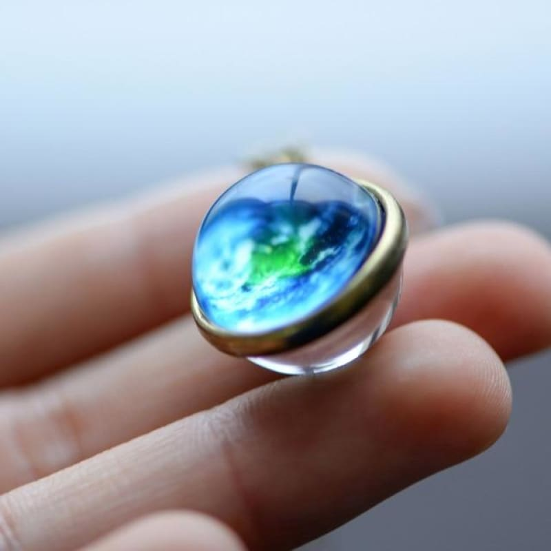 Nebula Galaxy Double Sided Pendant - theprimelabel