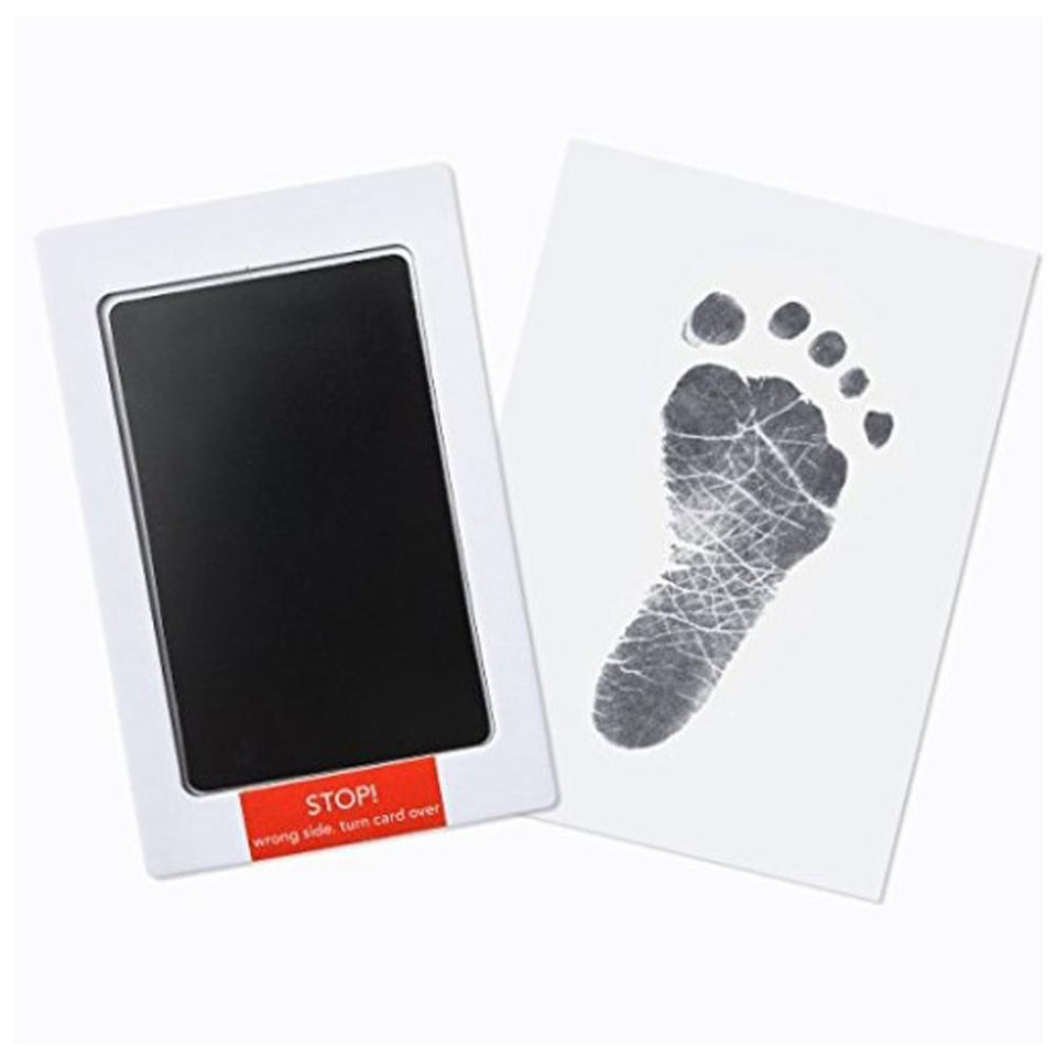 CHRISTMAS SALE - 50% OFF - Newborn Infant Footprint & Handprint Ink Pad - theprimelabel