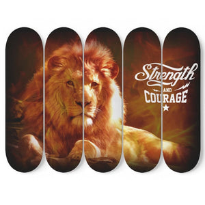 Strength & Courage - theprimelabel