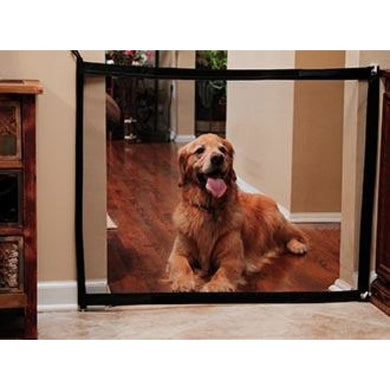 The Ingenious Mesh Magic Pet Gate For Dogs - theprimelabel