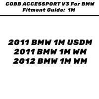 COBB BMW N54 STAGE 1+ POWER PACKAGE