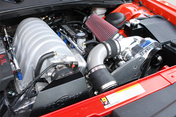 2008-2010 Challenger SRT8 High Output Intercooled ProCharger Kit P-1SC-1 - Tune Time Performance