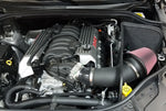 JLT 18-19 Dodge Durango SRT 6.4L Black Textured Cold Air Intake Kit w/Red Filter - Tune Time Performance