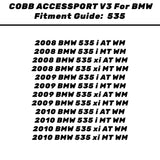 COBB BMW N54 STAGE 1 POWER PACKAGE W/V3