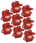 MSD Pro Power Coils LS1 / LS6 (Red)
