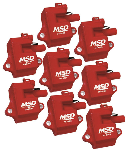 MSD Pro Power Coils LS1 / LS6 (Red) - Tune Time Performance