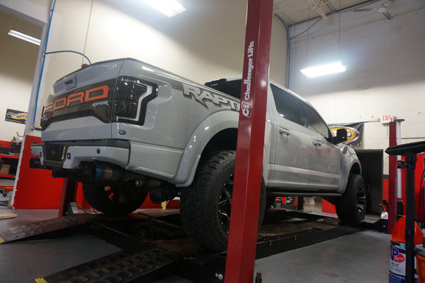 550HP Raptor Package - Tune Time Performance