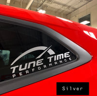 Tune Time Performance Decal - Tune Time Performance