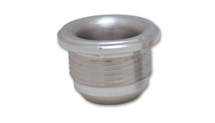 Vibrant -10 AN Male Weld Bung (1-1/8in Flange OD) - Aluminum - Tune Time Performance