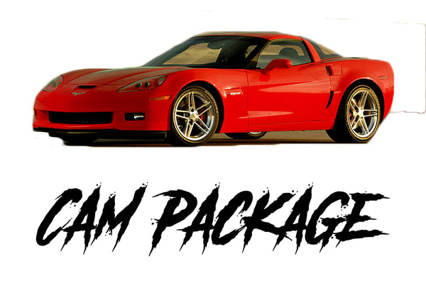 06-13 C6 Corvette Z06 Cam Only Package - Tune Time Performance