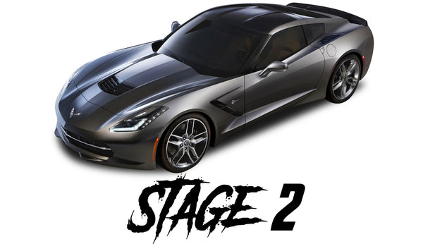14-19 Corvette C7 Stage 2 Package - Tune Time Performance