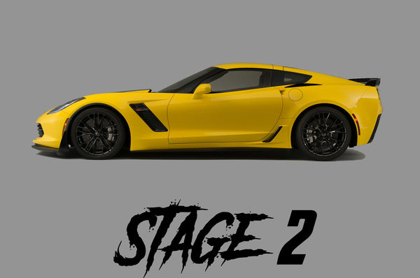 15-19 Corvette C7 Z06 Stage 2 Package - Tune Time Performance