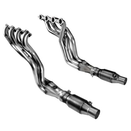 "Kooks 1-7/8"" SS Headers & GREEN Catted OEM Connections. 2010-2015 Camaro SS/ZL1."