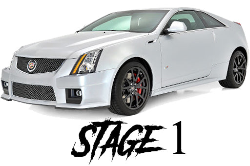 09-14 Cadillac CTS-V Stage 1 Package - Tune Time Performance