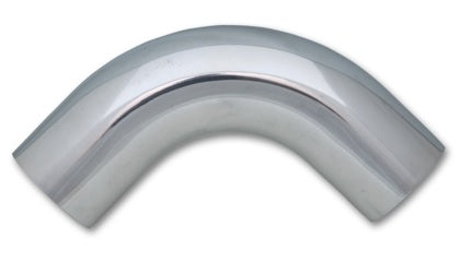 Vibrant 2.75in O.D. Universal Aluminum Tubing (90 degree bend) - Polished
