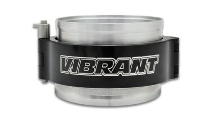 Vibrant 3in HD Clamp System Assembly - Anodized Black - Tune Time Performance