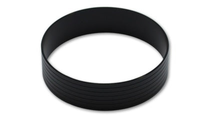 "Vibrant Vanjen Aluminum Union Sleeve for 3in OD Tubing (for use with Weld Fittings Part #12546)Vibrant  HD Union Sleeve, for 3.00"" O.D Tubing - Hard Anodized Black"