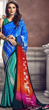 Digital Print Saree 7514 | Designer Studio London - ds-london.myshopify.com