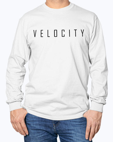 Velocity Logo Long Sleeve Shirt
