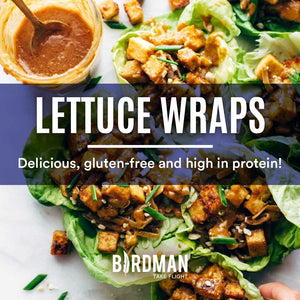 Vegan Lettuce Wraps - High protein and Gluten Free