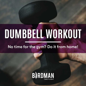 Upper Body Workout At Home With Dumbbells