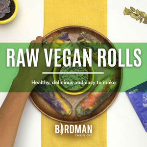 Raw Vegan Rolls Recipe