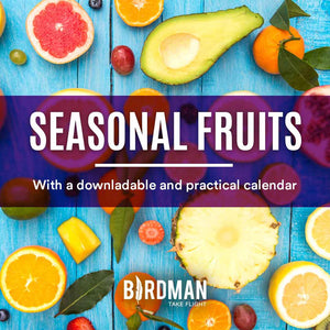 Seasonal Fruits per Month