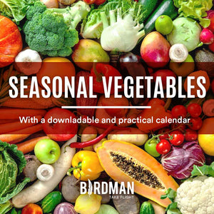 Seasonal Vegetables per Month