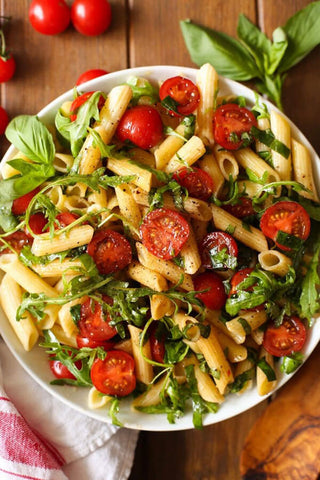 The Ultimate Summer Chickpea Pasta Salad