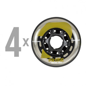 PRIME - Tribune 80mm/76a Indoor Hockey Wheels - Wheel Love Skateshop