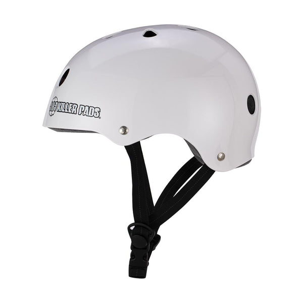 187 KILLER PADS - Pro Skate Helmet With Sweatsaver Liner (Gloss White)