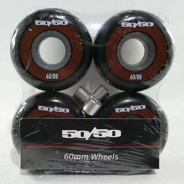 50/50 - 60mm/88a Limited Edition Aggressive Inline Skate Wheels
