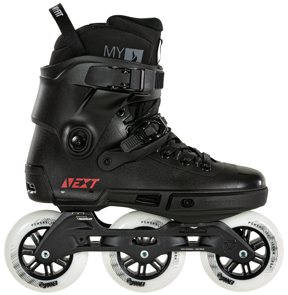 POWERSLIDE - Next Core Black 100 Inline Skates