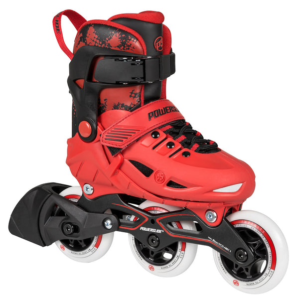 POWERSLIDE - Phuzion Universe Red Adjustable Kids Inline Skates
