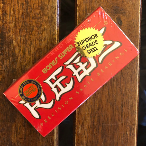 BONES - Super Reds Bearings (8-Pack and 16-Pack)