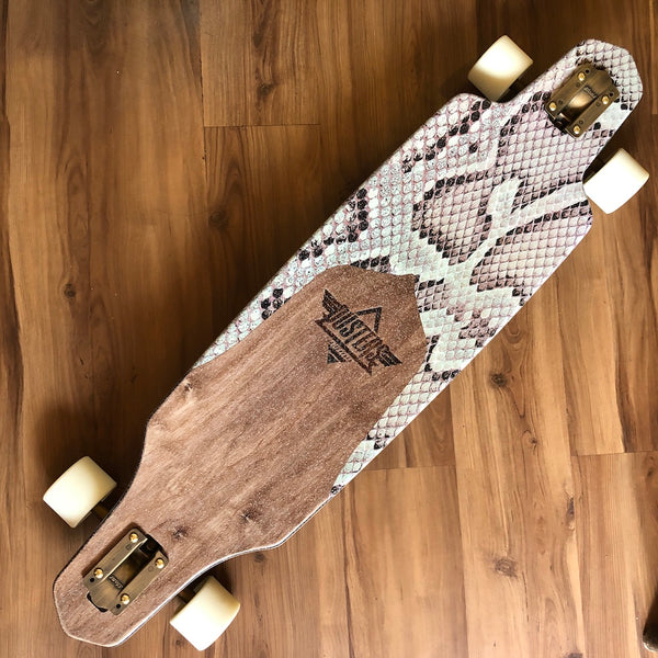 "DUSTER - Channel Snake Bite 38"" Drop Through Longboard"