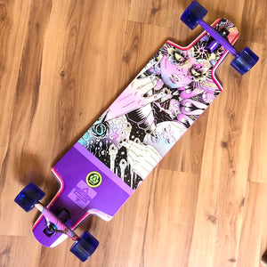 "DUSTER - Gaya 36"" Drop Through Complete Longboard"