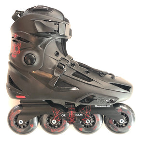 FLYING EAGLE - F3S+ Black Freestyle Inline Skates - Wheel Love Skateshop