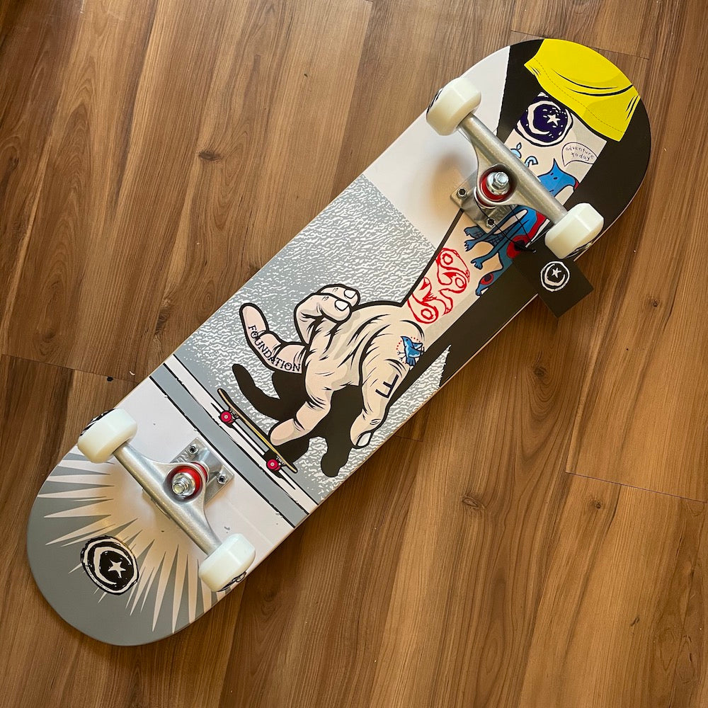 "FOUNDATION - Bratrud Push (8.38"") Complete Skateboard"