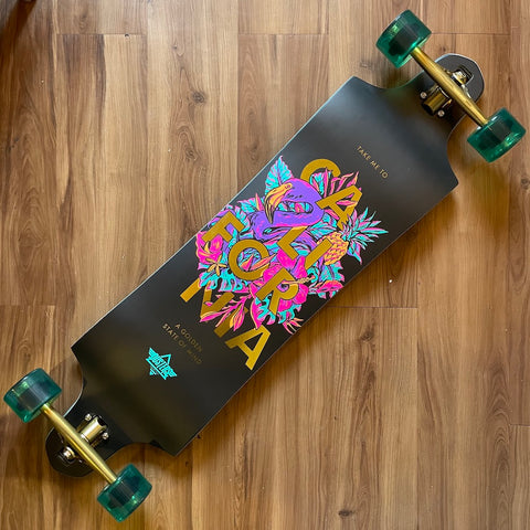 "DUSTERS - Golden State 38"" Complete Longboard"